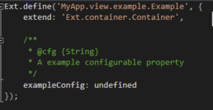 Annotate your own classes' configs