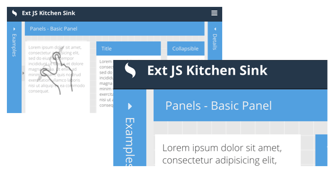 Ext JS 6.2 Viewport Pinch/Zoom and Native Scrolling