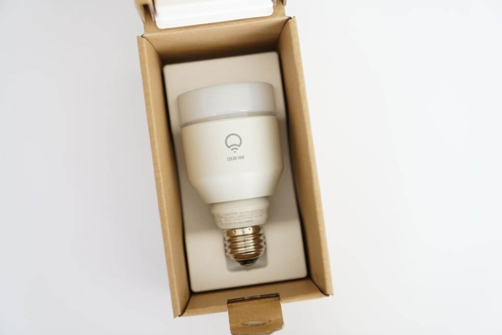 LIFX: Internet-Connected Light Bulb