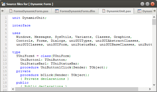 uniGUI Ubuntu theme ported to Ext JS 6.x